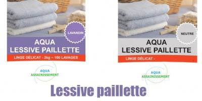 Lessive paillette