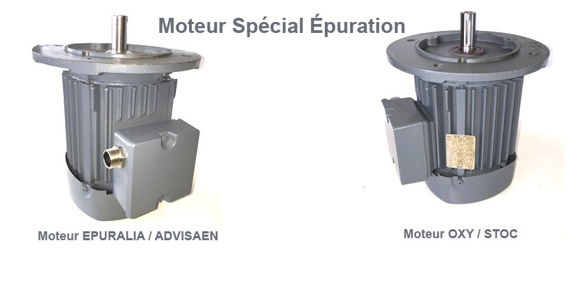 Moteur Microstation Épuration