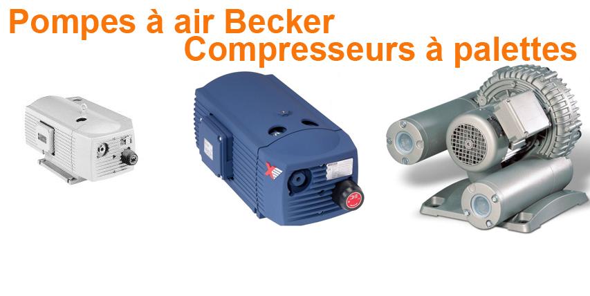 Pompes à air Becker Compresseurs à palettes