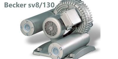 Becker sv8/130 Compresseur à canal latéral