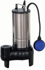Pompe de relevage NC50.110 OLIJU - Référence POMPE VORTEX F50.110.1A - Pompe de relevage eaux chargées