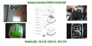 Manuel entretien POMPES SECOH JDK
