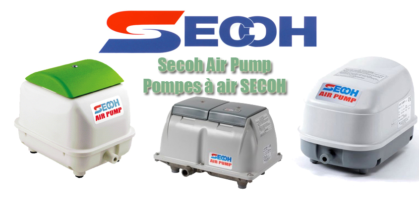 Secoh Air Pump - Pompes à air SECOH
