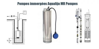 Pompes immergées Aqualiju MR Pompes