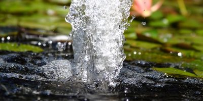 Compresseur ou pompe à air pour bassin ou jardin aquatique