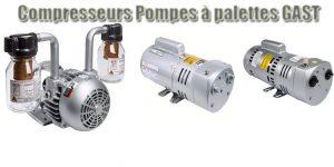 Compresseurs Pompes Palettes GAST