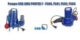 Pompe KSB AMA PORTER – F500 F501 F502 F503