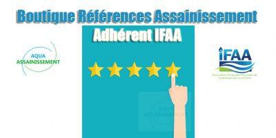 Boutique Références Assainissement - adhérent IFAA