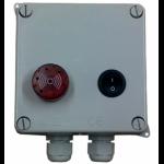 Alarme alimentation secteur pour pompe à eau