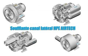 Soufflante canal latéral HPE AIRTECH