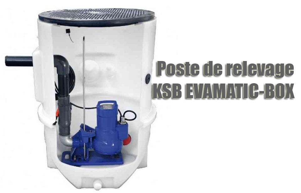 Poste de relevage KSB EVAMATIC-BOX