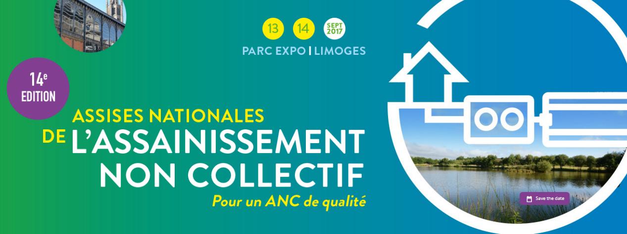 14ème Édition des Assises Nationales de l'Assainissement Non Collectif 2017