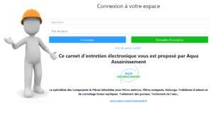 Carnet d'entretien assainissement en ligne gratuit
