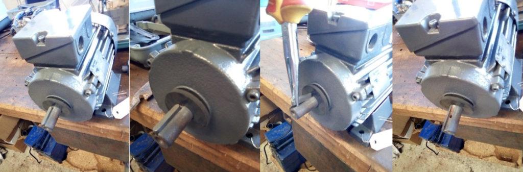 Comment installer la turbine sur le moteur