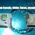 Oxygénation bassin, vivier, fosse, assainissement