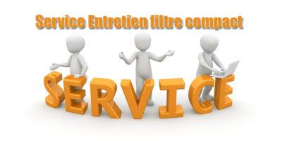 Service Entretien filtre compact