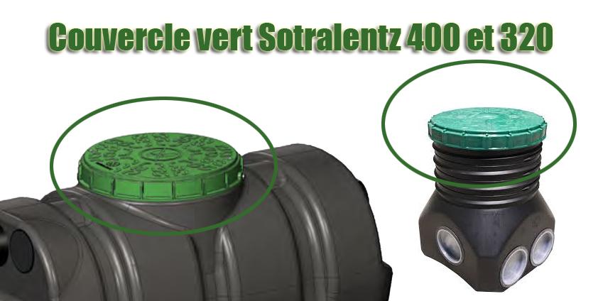Couvercle vert Sotralentz