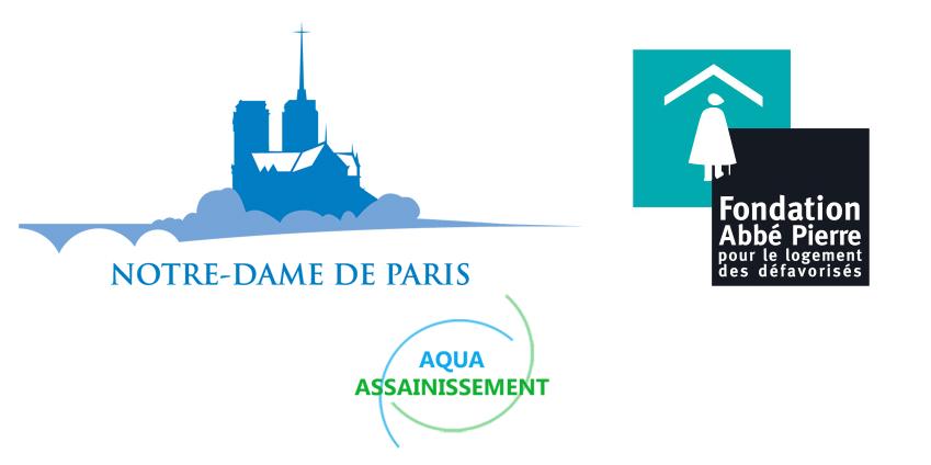 5% du CA d'avril reversés - Cathédrale Notre-Dame de Paris et fondation Abbé Pierre