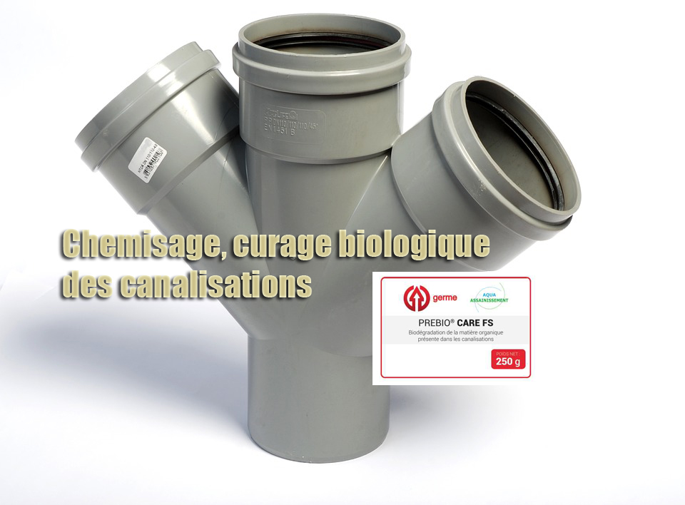 Chemisage curage biologique canalisations