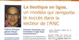 AQUA Assainissement : La boutique en ligne, un modèle qui remporte le succès dans le secteur de l'ANC