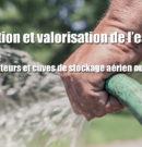 Récupération et valorisation de l'eau de pluie