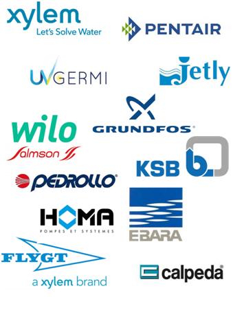 Pompes et accessoires par Fabricants