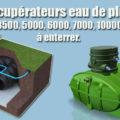 Récupérateurs eau de pluie