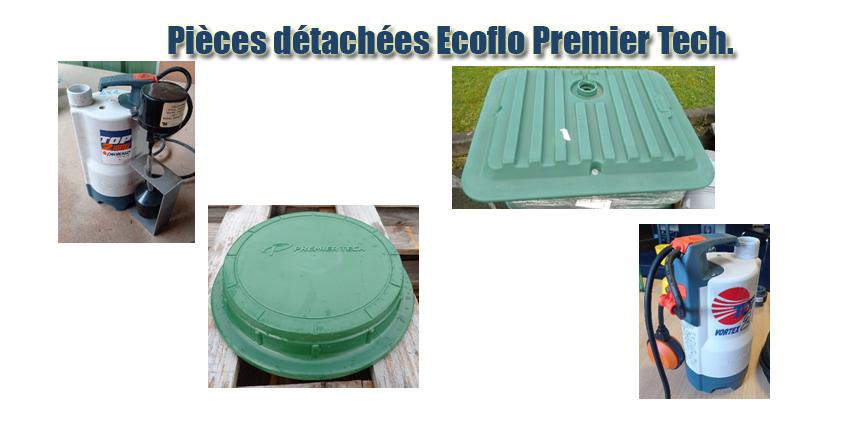 Pièces détachées Ecoflo Premier Tech.