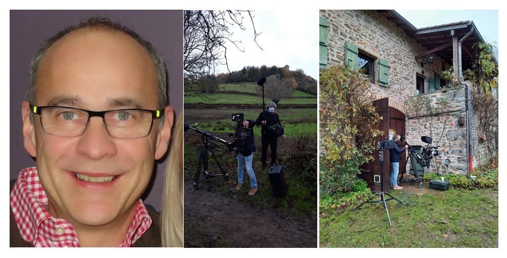 Récupérateur eau de pluie : tournage TF1