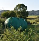 Récupérateur d'eau pour abreuvoir en agriculture