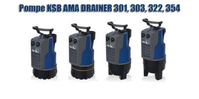 Pompe KSB AMA DRAINER 301, 303, 322, 354.